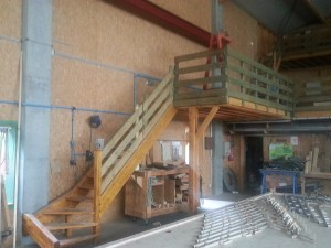 Fabrication escalier local pro.