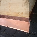 Fabrication et pose abergement cuivre